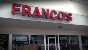 Franco's Pizza, Whitestown, NY